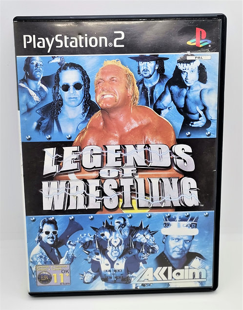 Legends of Wrestling for Sony PlayStation 2 PS2