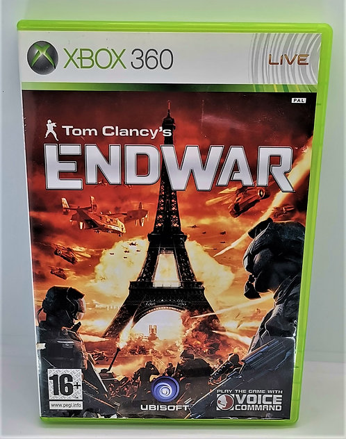Tom Clancy's EndWar for Microsoft Xbox 360