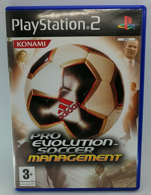 Pro Evolution Soccer Management for Sony PlayStation 2 PS2