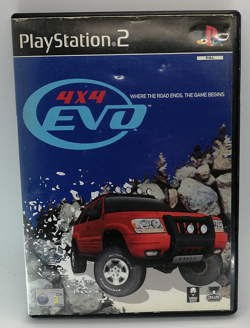 4x4 Evo for Sony PlayStation 2 PS2
