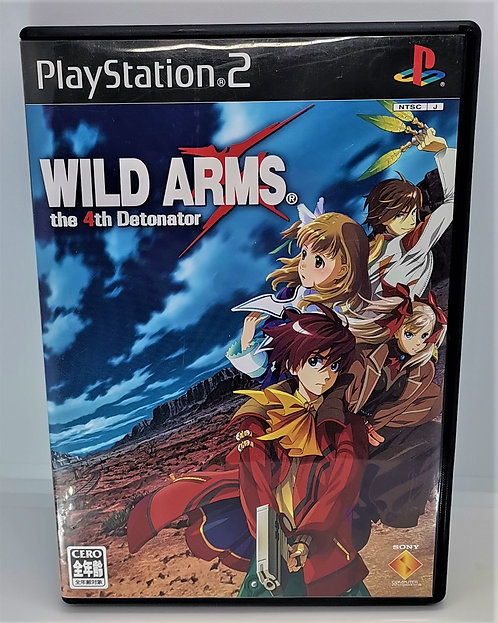 Wild Arms: The 4th Detonator for Sony PlayStation 2 PS2