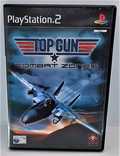 Top Gun: Combat Zones for Sony PlayStation 2 PS2