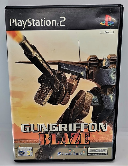 Gungriffon Blaze for Sony PlayStation 2 PS2