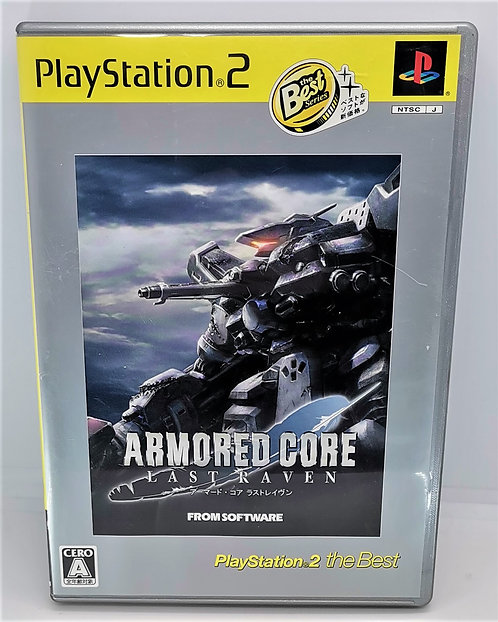 Armored Core: Last Raven for Sony PlayStation 2 PS2