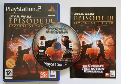 Star Wars Episode III (3) Revenge of the Sith for Sony Playstation ...