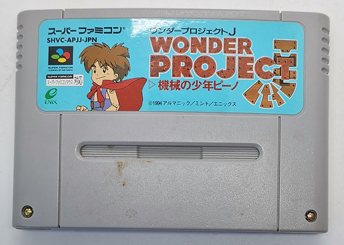 Wonder Project J: Kikai no Shōnen Pino for Nintendo Super Famicom