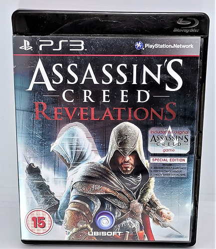 Assassin's Creed: Revelations for Sony PlayStation 3 PS3