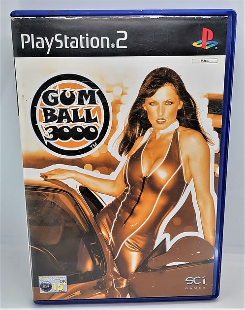 Gumball 3000 for Sony PlayStation 2 PS2