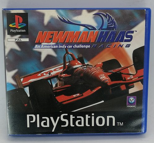 Newman Haas Racing (Rental Version) for Sony PlayStation PS1