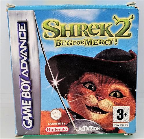 Shrek 2: Beg for Mercy for Nintendo Game Boy Advance GBA