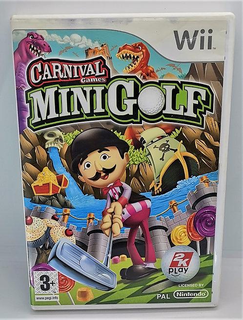 Carnival Games: Mini Golf for Nintendo Wii