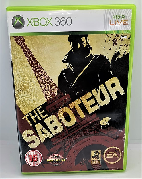 The Saboteur for Microsoft Xbox 360