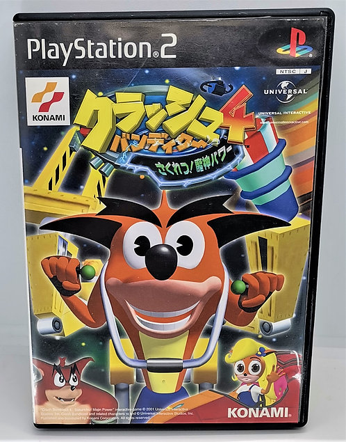Crash Bandicoot 4 - Sakuretsu! Majin Power for Sony PlayStation 2 PS2