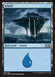 MAGIC THE GATHERING MAGIC 2015 Card - 256/269 : Island