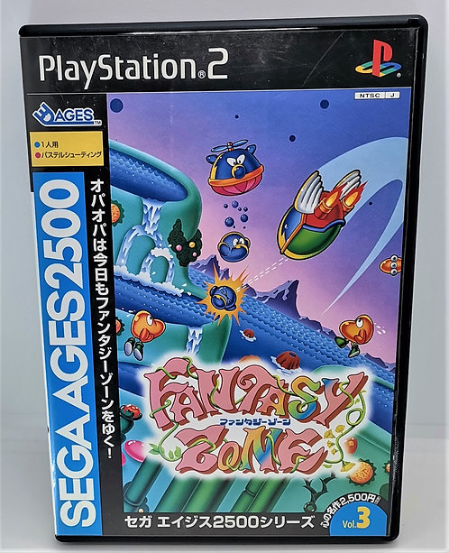 Sega Ages 2500 Series Vol. 3: Fantasy Zone for Sony PlayStation 2 PS2