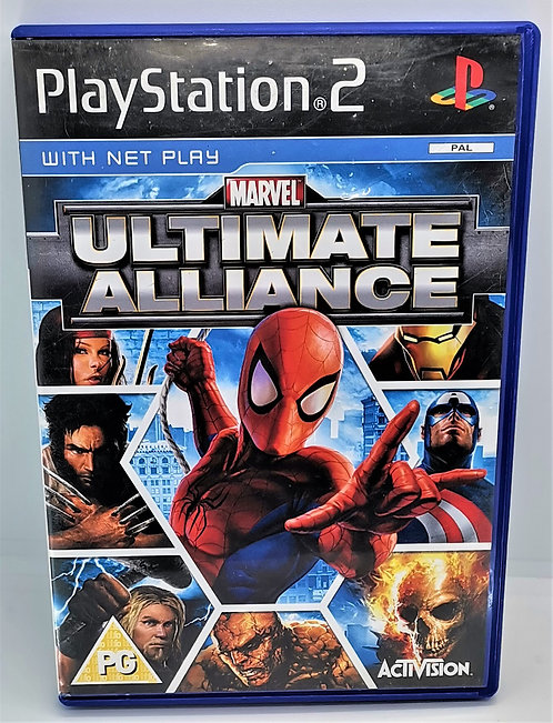 Marvel Ultimate Alliance for Sony PlayStation 2 PS2