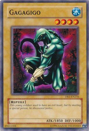 Yu-Gi-Oh! Card DR1-EN216 Gagagigo