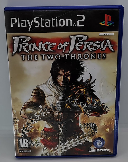 Prince of Persia: The Two Thrones for Sony PlayStation 2 PS2