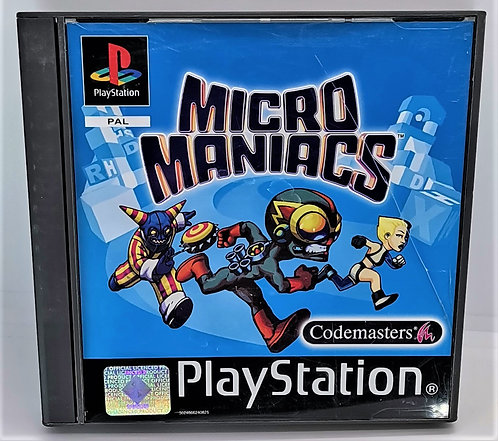 Micro Maniacs for Sony PlayStation PS1