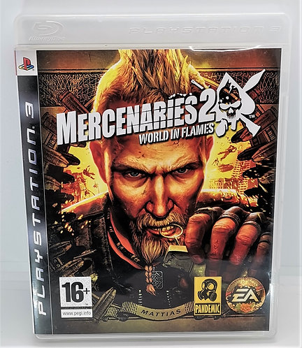 Mercenaries 2: World in Flames for Sony PlayStation 3 PS3