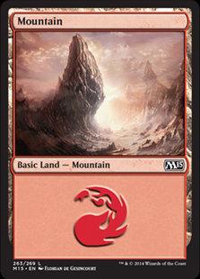 MAGIC THE GATHERING MAGIC 2015 Single Card - 263/269 : Mountain