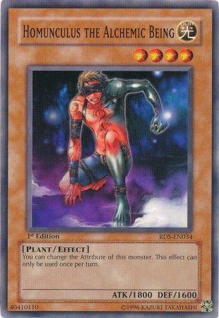 Yu-Gi-Oh! Card DR3-EN094 Homunculus the Alchemic Being