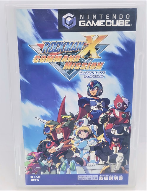 Rockman X: Command Mission for Nintendo GameCube