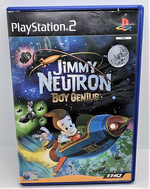 Jimmy Neutron: Boy Genius for Sony PlayStation 2 PS2