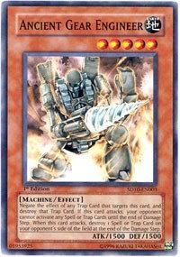 Yu-Gi-Oh! Card SD10-EN003 Ancient Gear Engineer 1st Edition