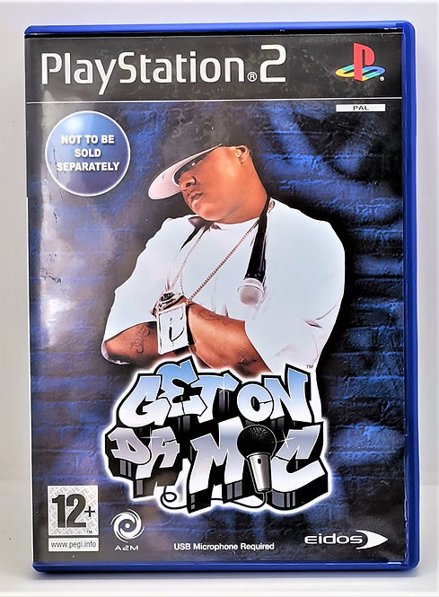 Get on da Mic for Sony PlayStation 2 PS2