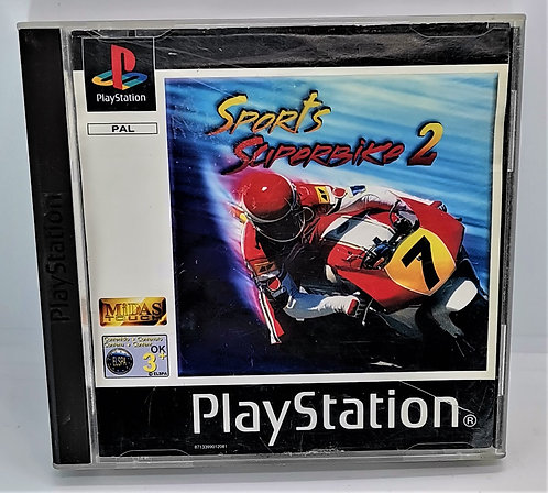 Sports Superbike 2 for Sony PlayStation PS1