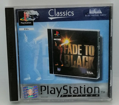 Fade to Black for Sony PlayStation PS1