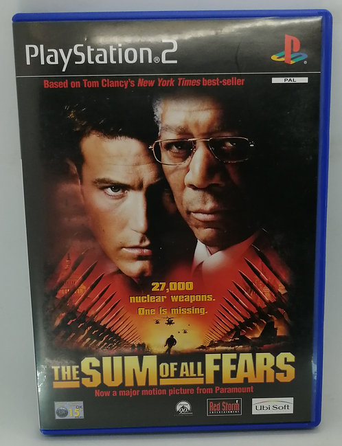 The Sum of All Fears for Sony PlayStation 2 PS2