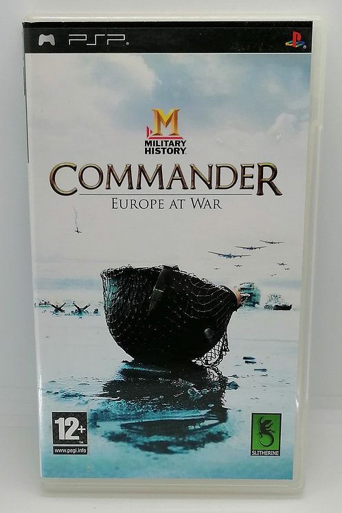 Military History Commander: Europe at War for Sony PlayStation Portable PSP