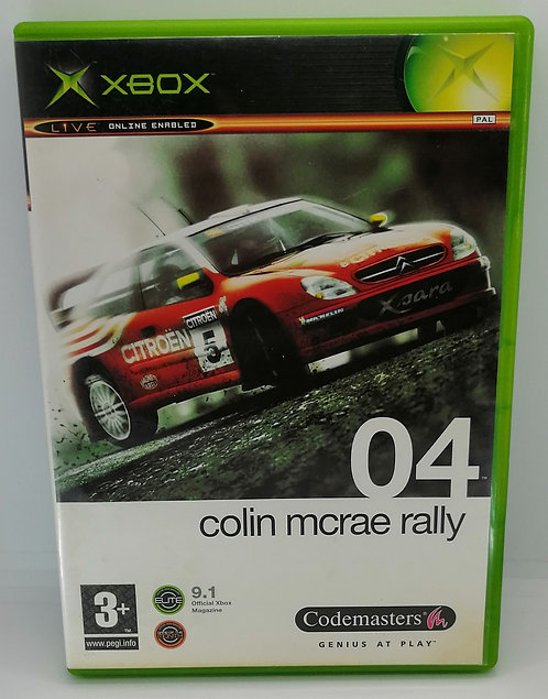 Colin McRae Rally 04 for Microsoft Xbox
