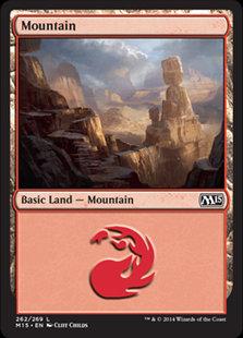 MAGIC THE GATHERING MAGIC 2015 Single Card - 262/269 : Mountain
