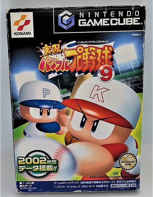Jikkyo Powerful Pro Yakyu 9 for Nintendo GameCube