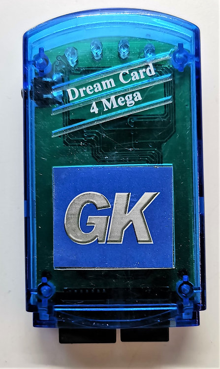 GK Dream Card for Sega Dreamcast