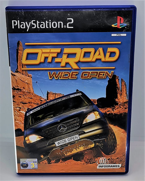 Off-Road: Wide Open for Sony PlayStation 2 PS2