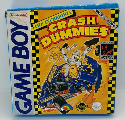 The Incredible Crash Dummies for Nintendo Game Boy