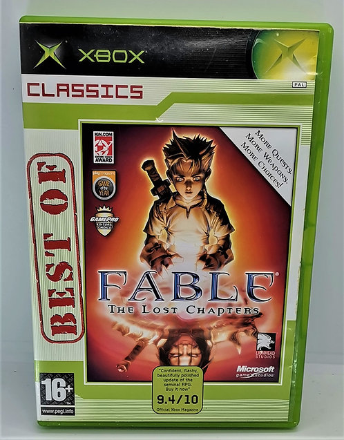 Fable: The Lost Chapters for Microsoft Xbox