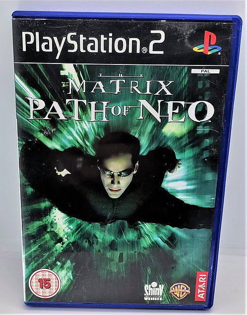 The Matrix: Path of Neo for Sony PlayStation 2 PS2