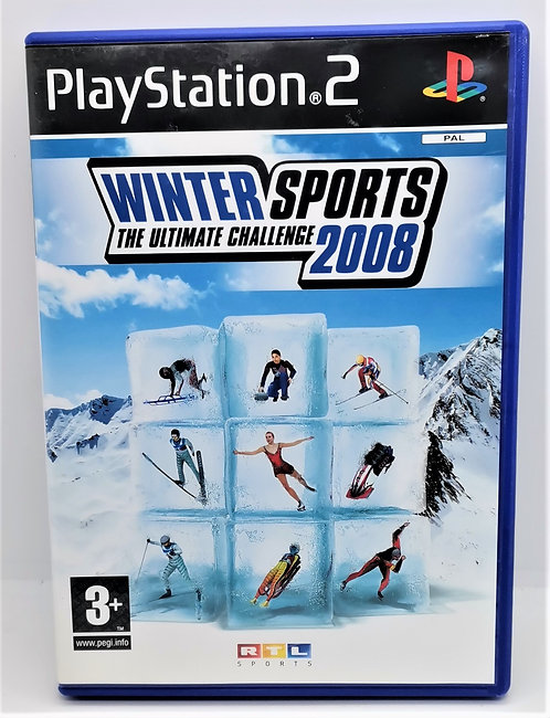Winter Sports: The Ultimate Challenge 2008 for Sony PlayStation 2 PS2