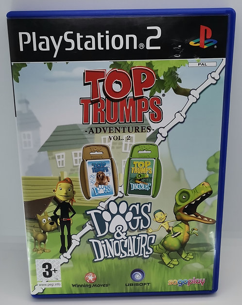 Top Trumps Adventures: Dogs and Dinosaurs for Sony PlayStation 2 PS2