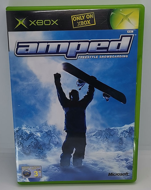 Amped: Freestyle Snowboarding for Microsoft Xbox