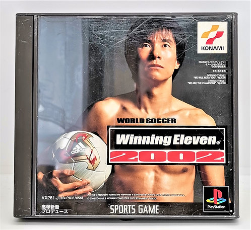 World Soccer: Winning Eleven 2002 for Sony PlayStation PS1