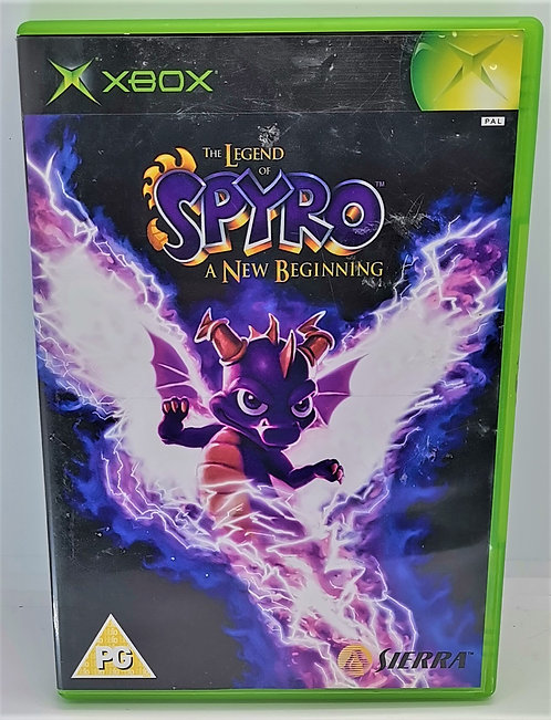 The Legend of Spyro: A New Beginning for Microsoft Xbox