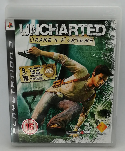 Uncharted: Drake's Fortune for Sony PlayStation 3 PS3