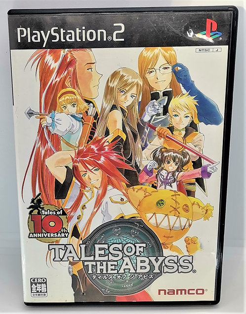 Tales of the Abyss for Sony PlayStation 2 PS2