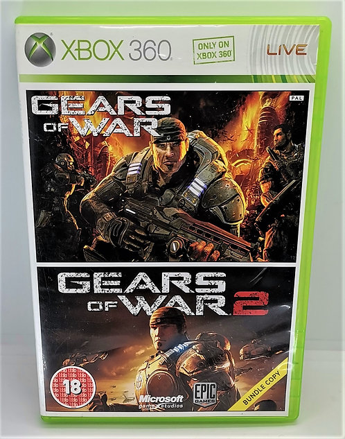 Gears of War Double Pack for Microsoft Xbox 360